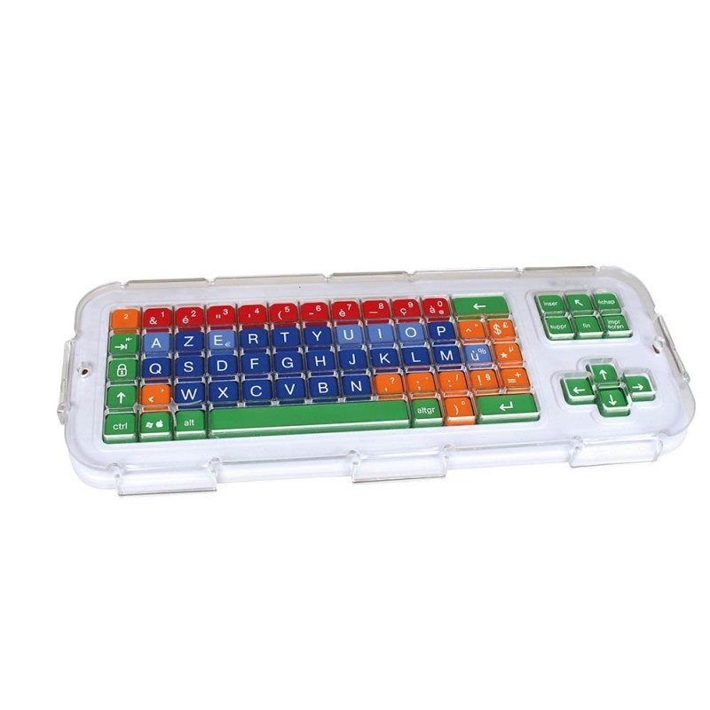 GUIDE DOIGT CLAVIER CLEVY TRANSPARENT