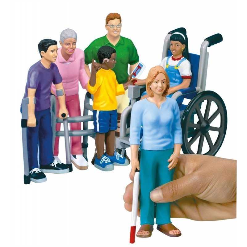 Figurines sensibilisation handicap