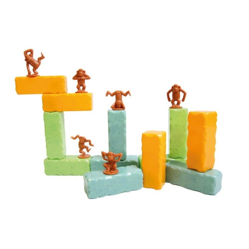 Jeu d'empilement monkey blocks