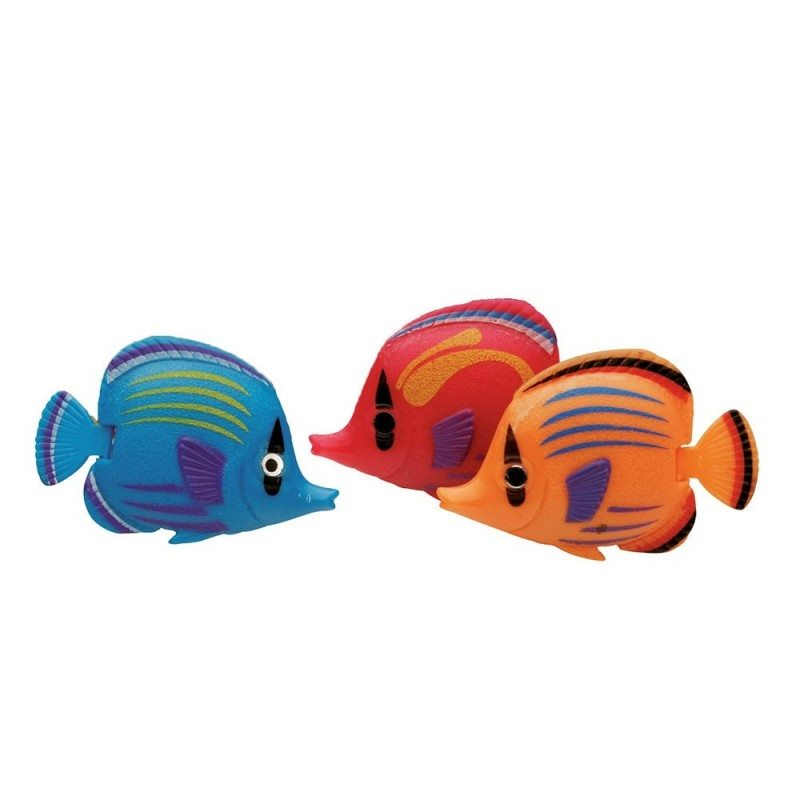 Lot de 10 poissons