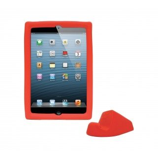 CADRE BIG GRIPS IPAD MINI + SUPPORT - ROUGE