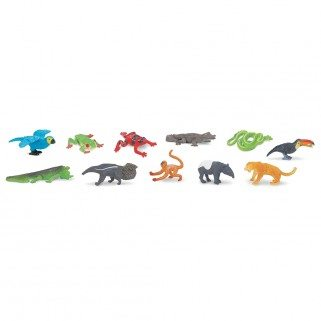 Figurines forêt tropicale