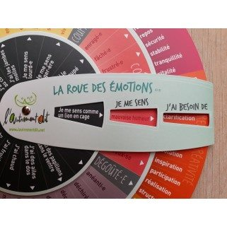La roue des emotions adulte
